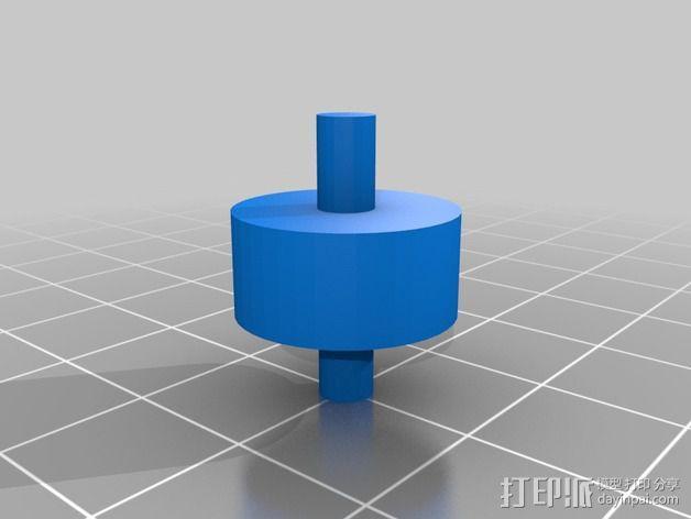 输液调节器 3D模型  图3