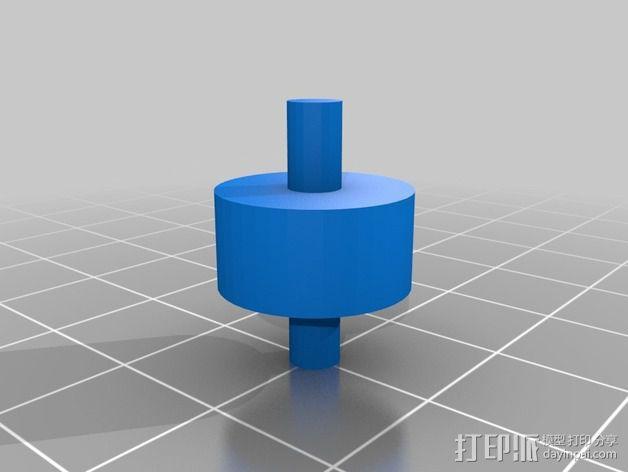 输液调节器 3D模型  图2