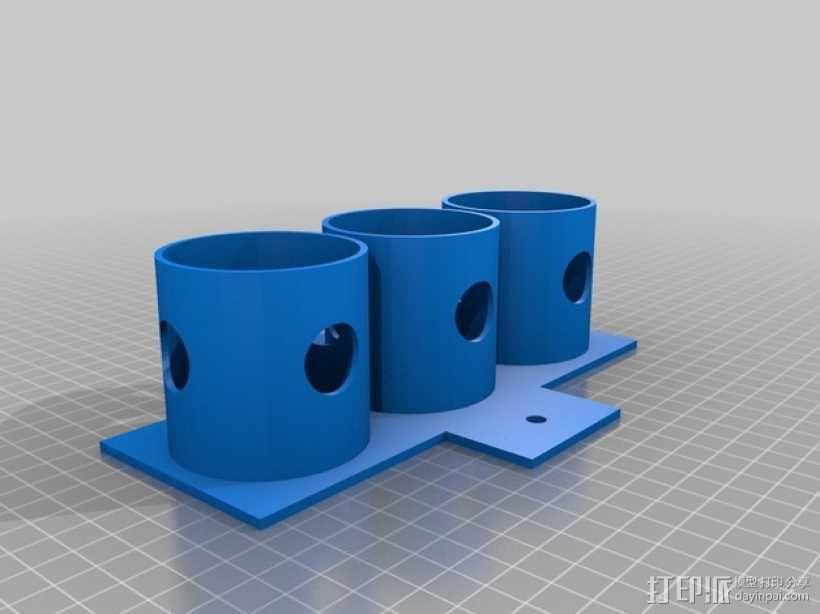 瓶架 扶瓶托 3D模型  图3