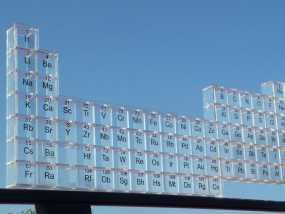元素周期表透明架 3D模型