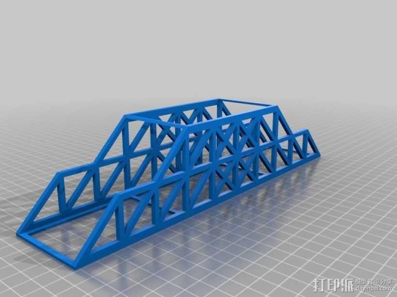Howe桥 模型 3D模型  图2