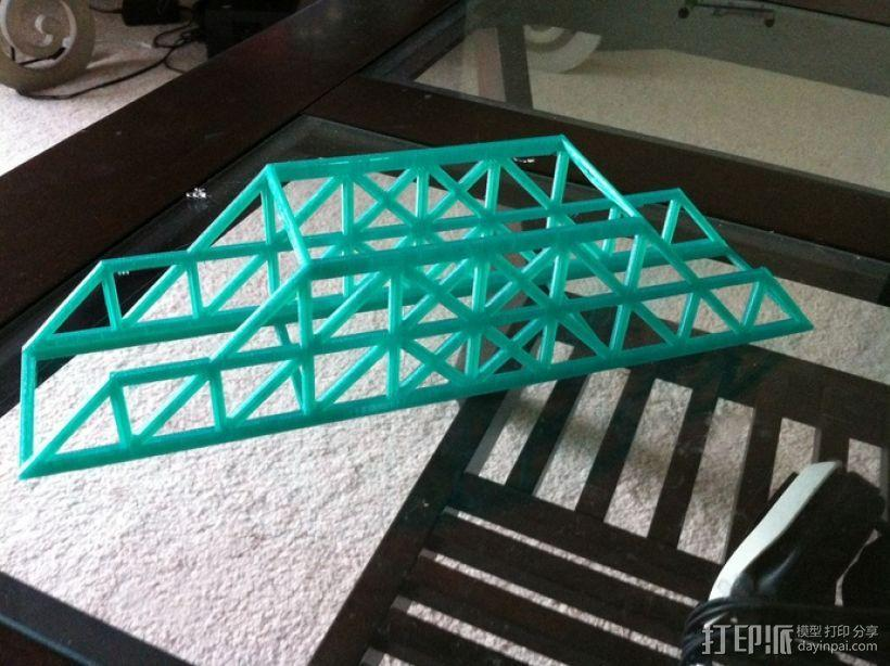 Howe桥 模型 3D模型  图1