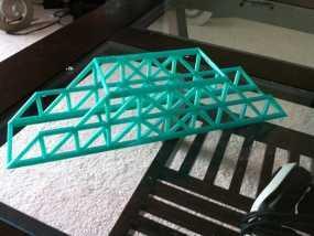 Howe桥 模型 3D模型