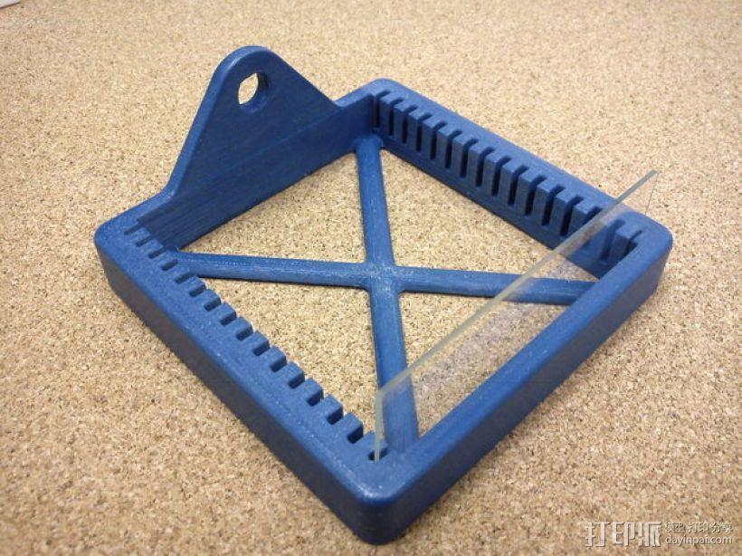 玻片架 3D模型  图1
