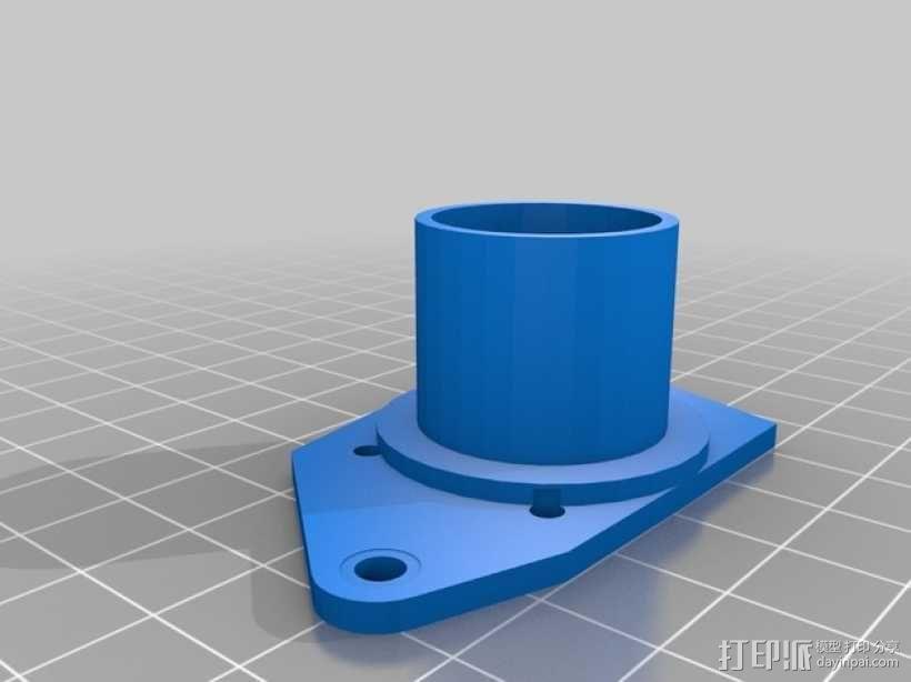 树莓派 盒子 3D模型  图8