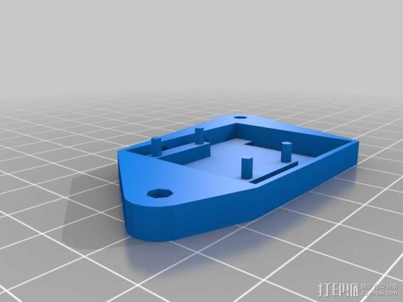树莓派 盒子 3D模型  图9