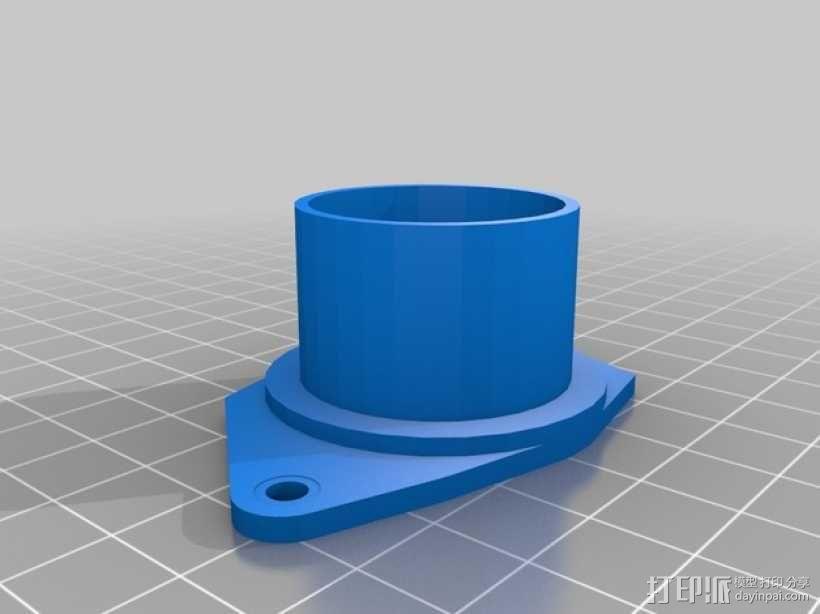 树莓派 盒子 3D模型  图10
