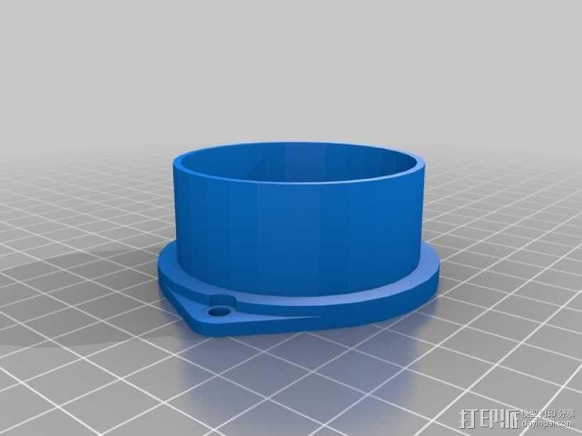 树莓派 盒子 3D模型  图11