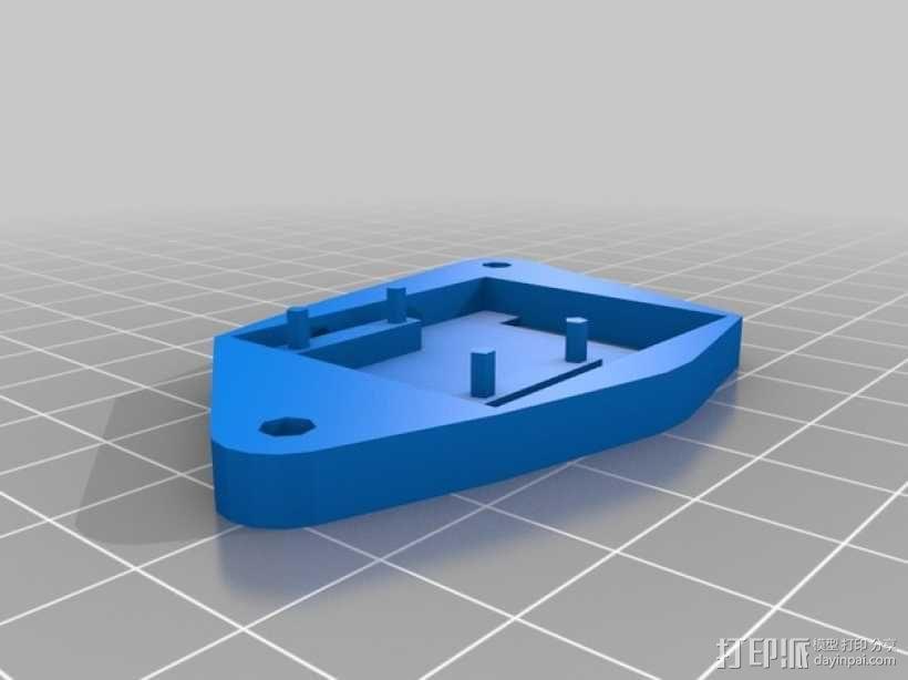 树莓派 盒子 3D模型  图12