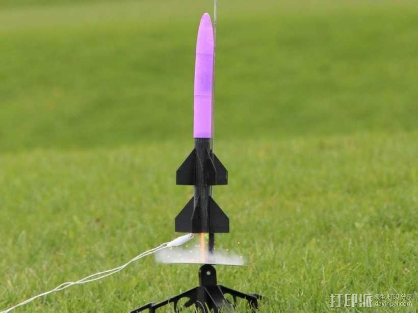 火箭模型 3D模型  图2