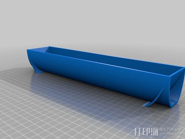 抛物面聚光镜 3D模型  图3