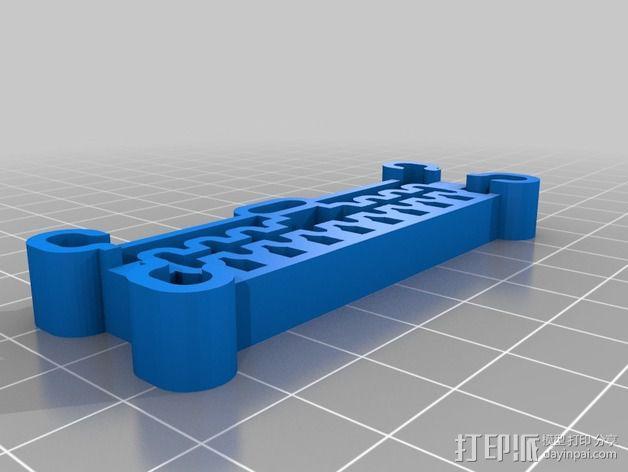抛物线学习用具 3D模型  图2