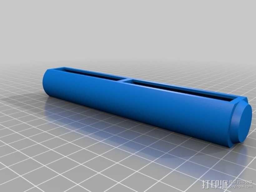算术轴 3D模型  图3