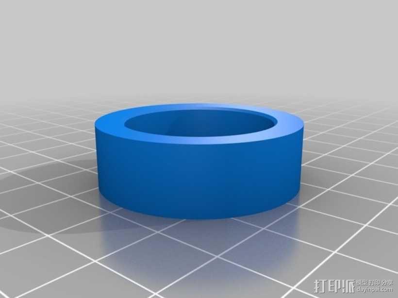 算术轴 3D模型  图4