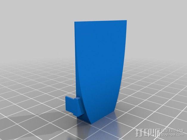 抛物面聚光器 3D模型  图5