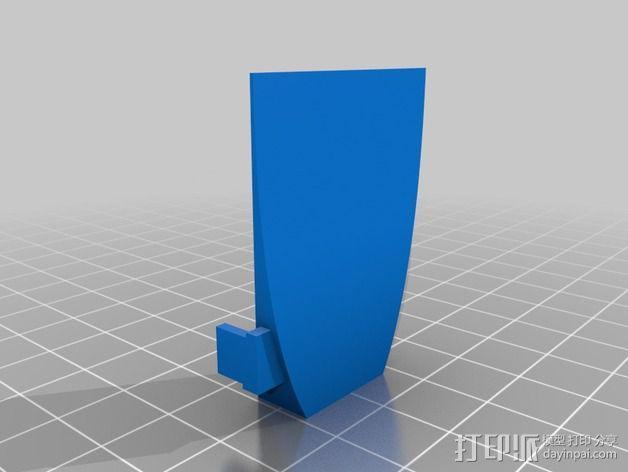 抛物面聚光器 3D模型  图6