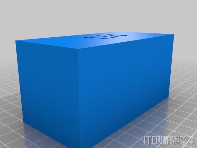 几何方块 教学用具 3D模型  图2