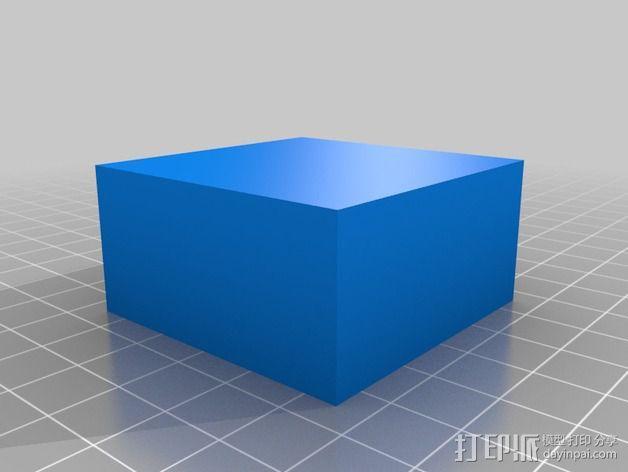 几何方块 教学用具 3D模型  图3
