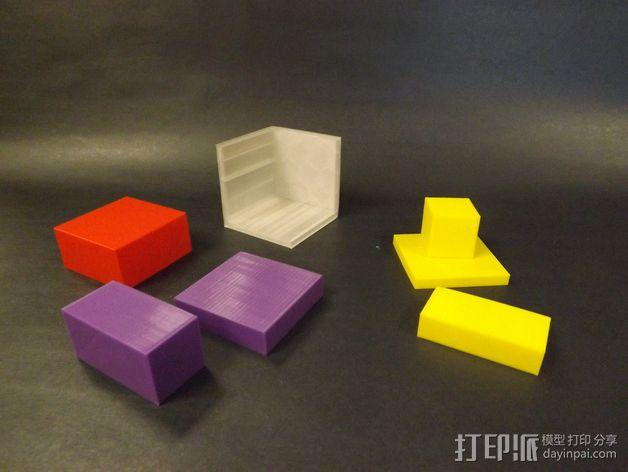 几何方块 教学用具 3D模型  图6
