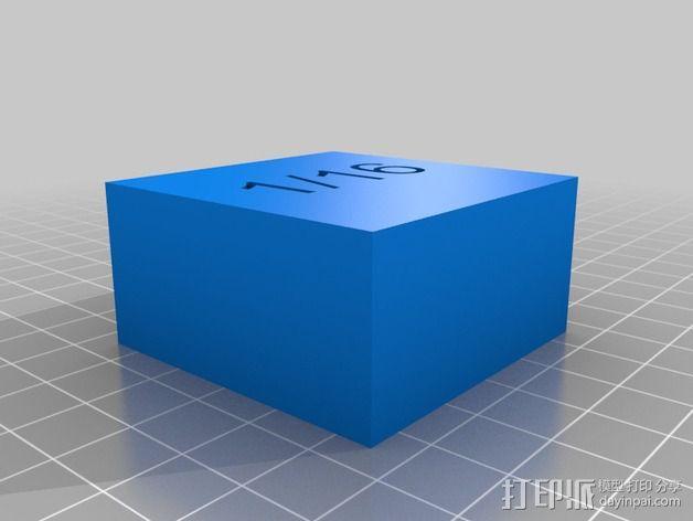 几何方块 教学用具 3D模型  图10
