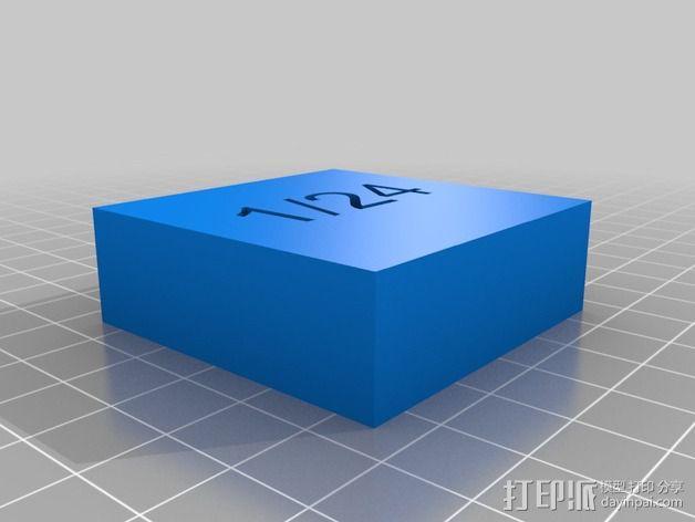 几何方块 教学用具 3D模型  图9