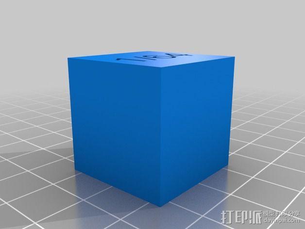 几何方块 教学用具 3D模型  图12
