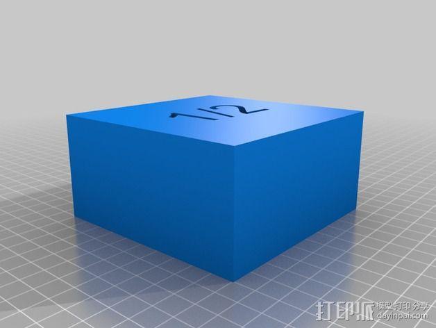 几何方块 教学用具 3D模型  图20