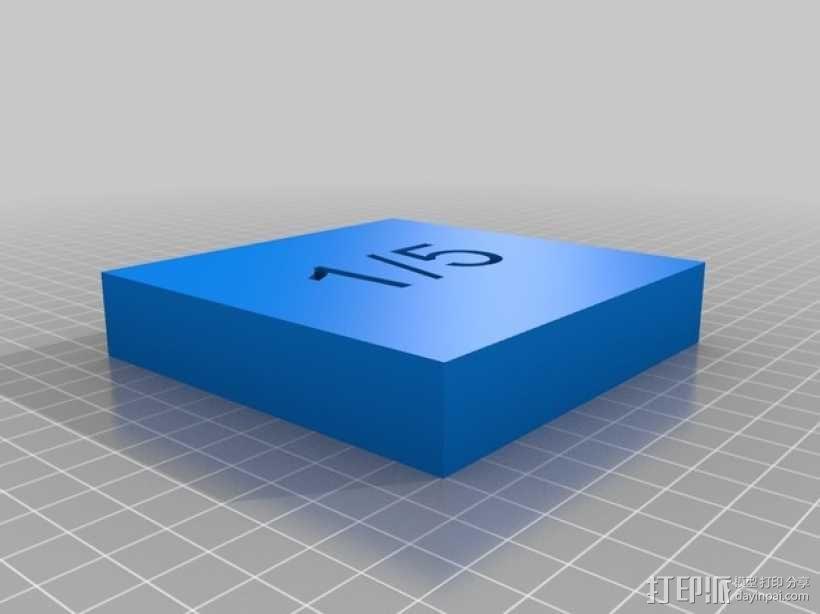 几何方块 教学用具 3D模型  图30