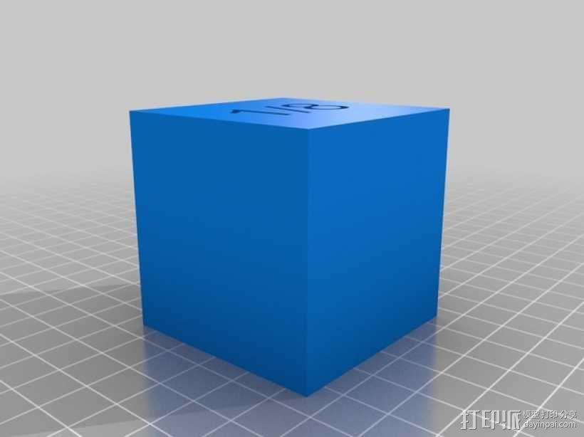 几何方块 教学用具 3D模型  图33