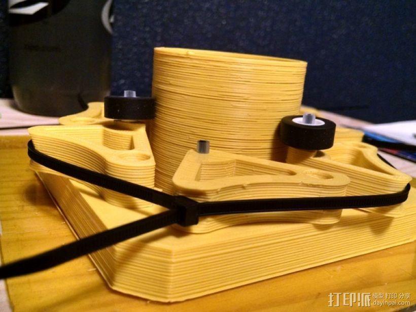 望远镜聚焦器 3D模型  图1