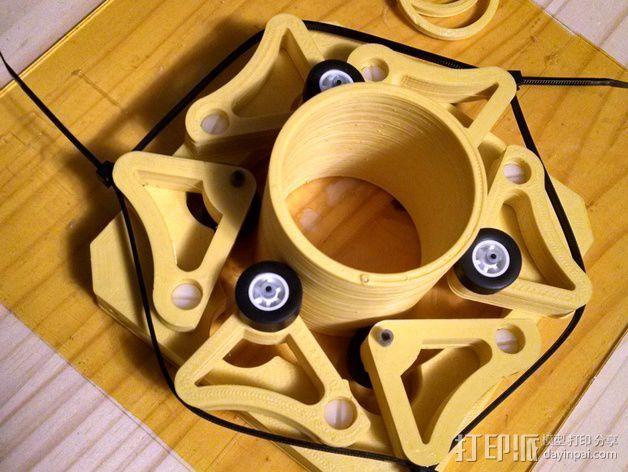 望远镜聚焦器 3D模型  图2