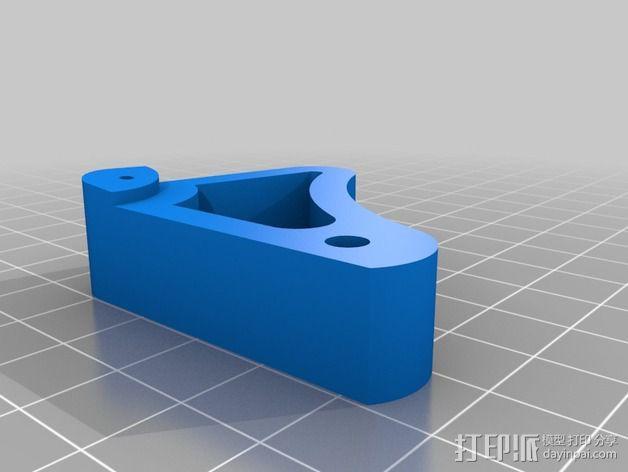 望远镜聚焦器 3D模型  图6