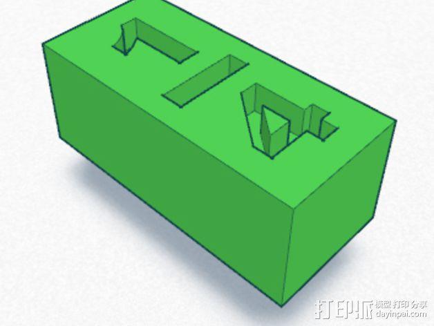 分数块 数学工具 3D模型  图2