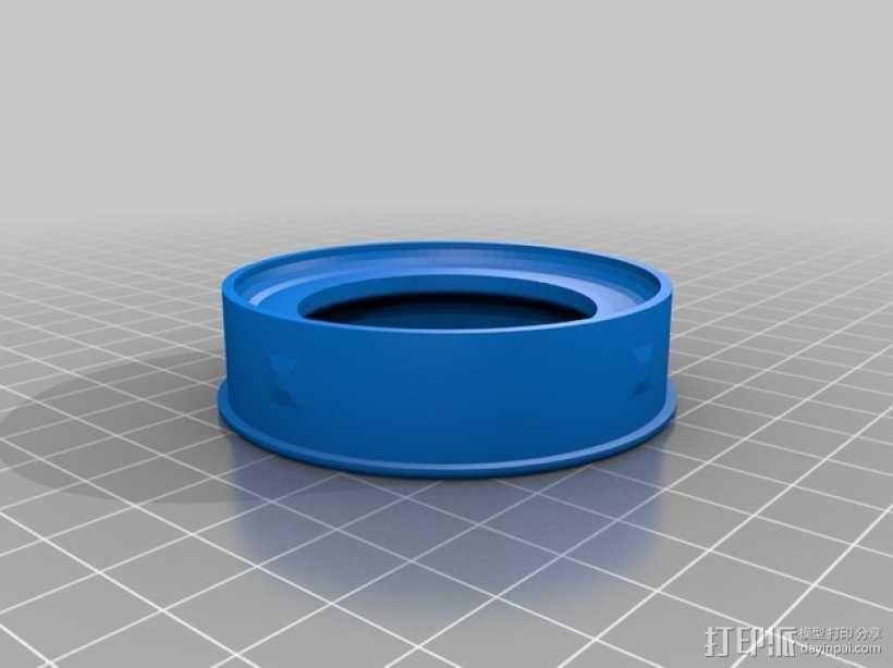 折射望远镜 3D模型  图15