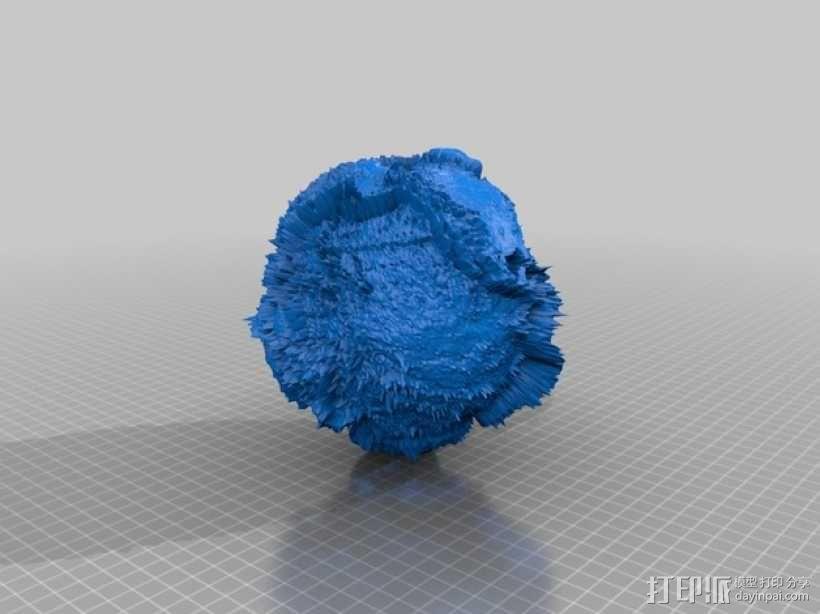 地球模型 3D模型  图2