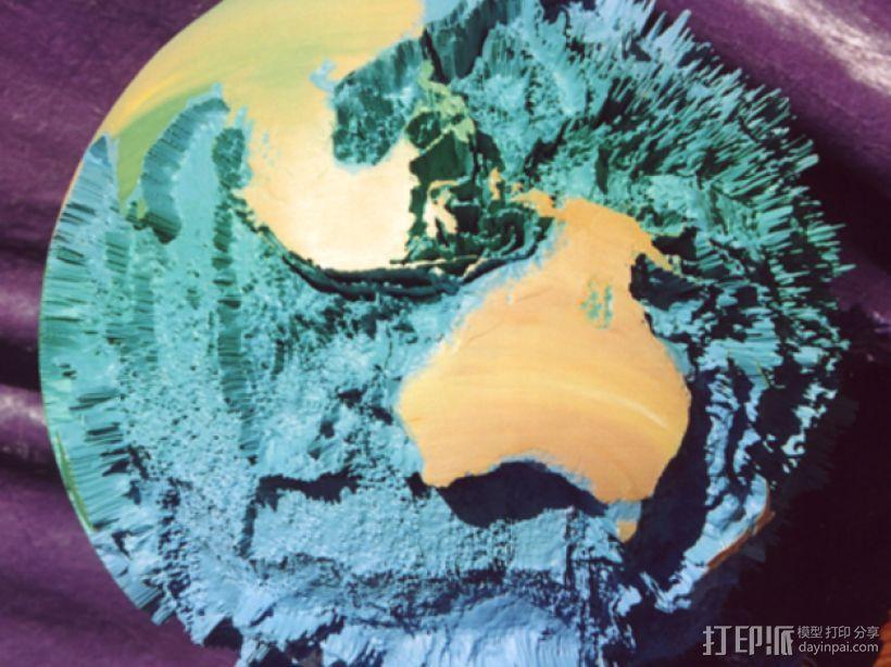 地球模型 3D模型  图1