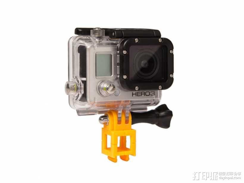 GoPro 照相机支座 3D模型  图1