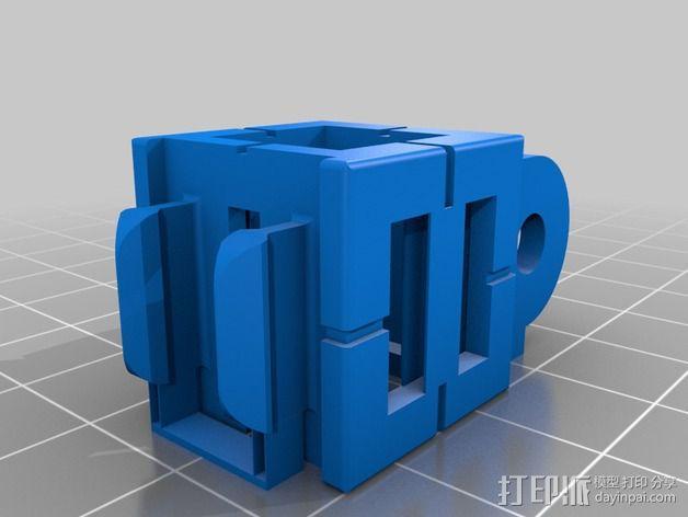 GoPro 照相机支座 3D模型  图5
