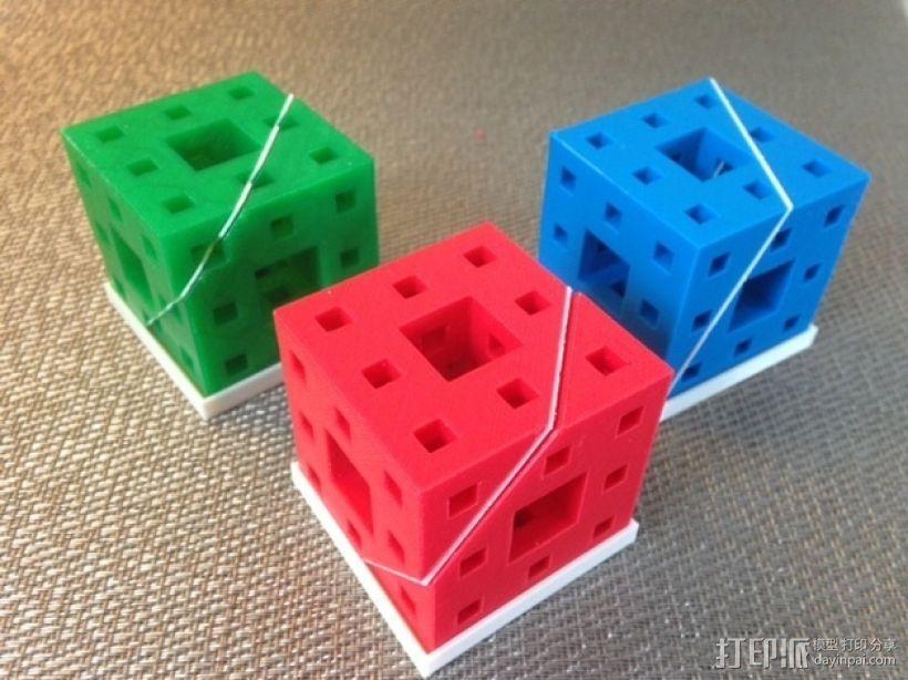 门格尔海绵模型 3D模型  图1
