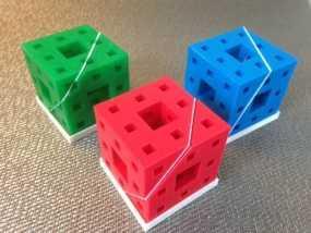 门格尔海绵模型 3D模型