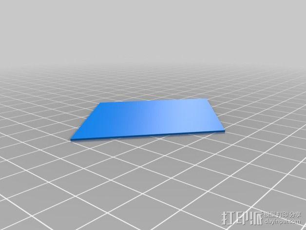 门格尔海绵模型 3D模型  图2