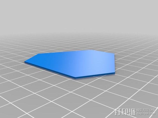 门格尔海绵模型 3D模型  图3