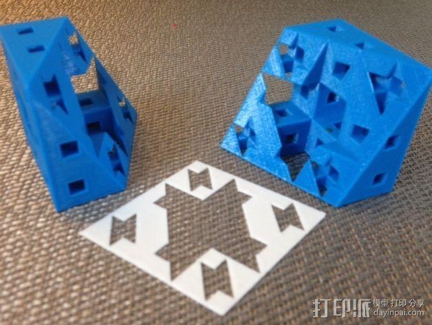 门格尔海绵模型 3D模型  图6