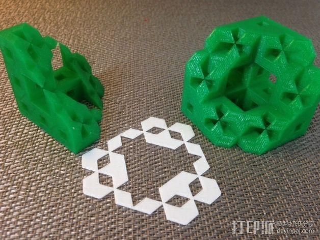 门格尔海绵模型 3D模型  图7