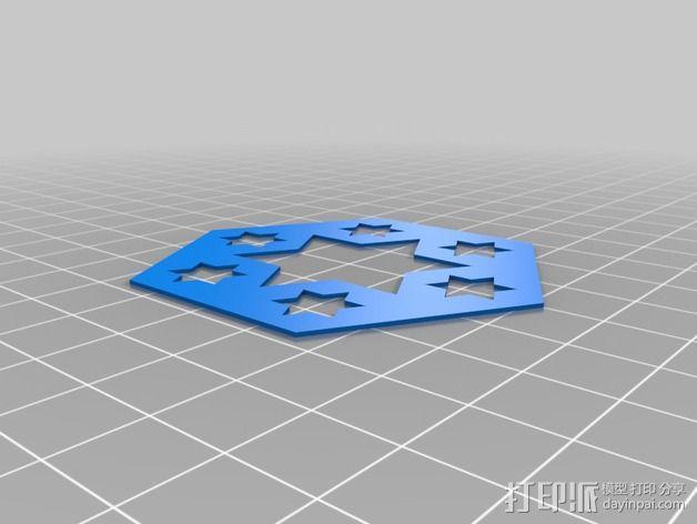 门格尔海绵模型 3D模型  图9
