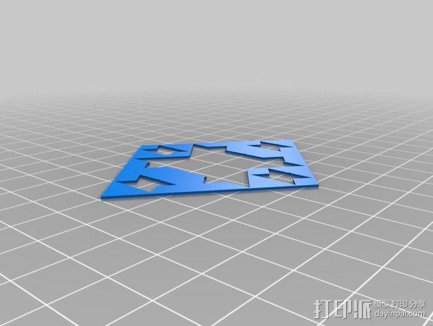 门格尔海绵模型 3D模型  图11