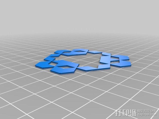 门格尔海绵模型 3D模型  图14
