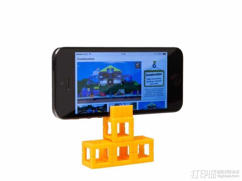 智能手机支座 3D模型  图1