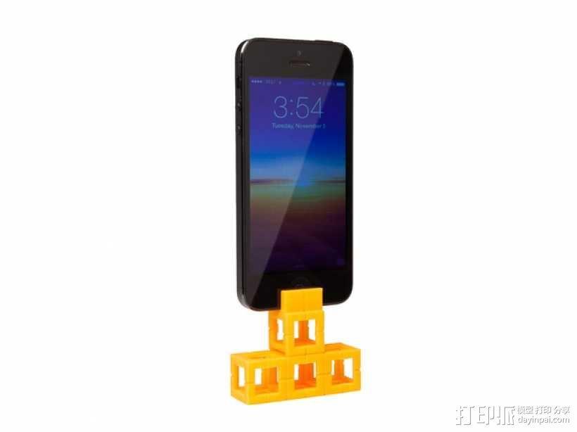 智能手机支座 3D模型  图2
