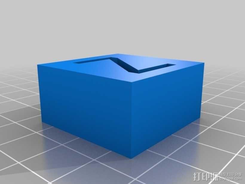 字母模型块 3D模型  图25